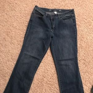 Christopher and banks medium wash jeans